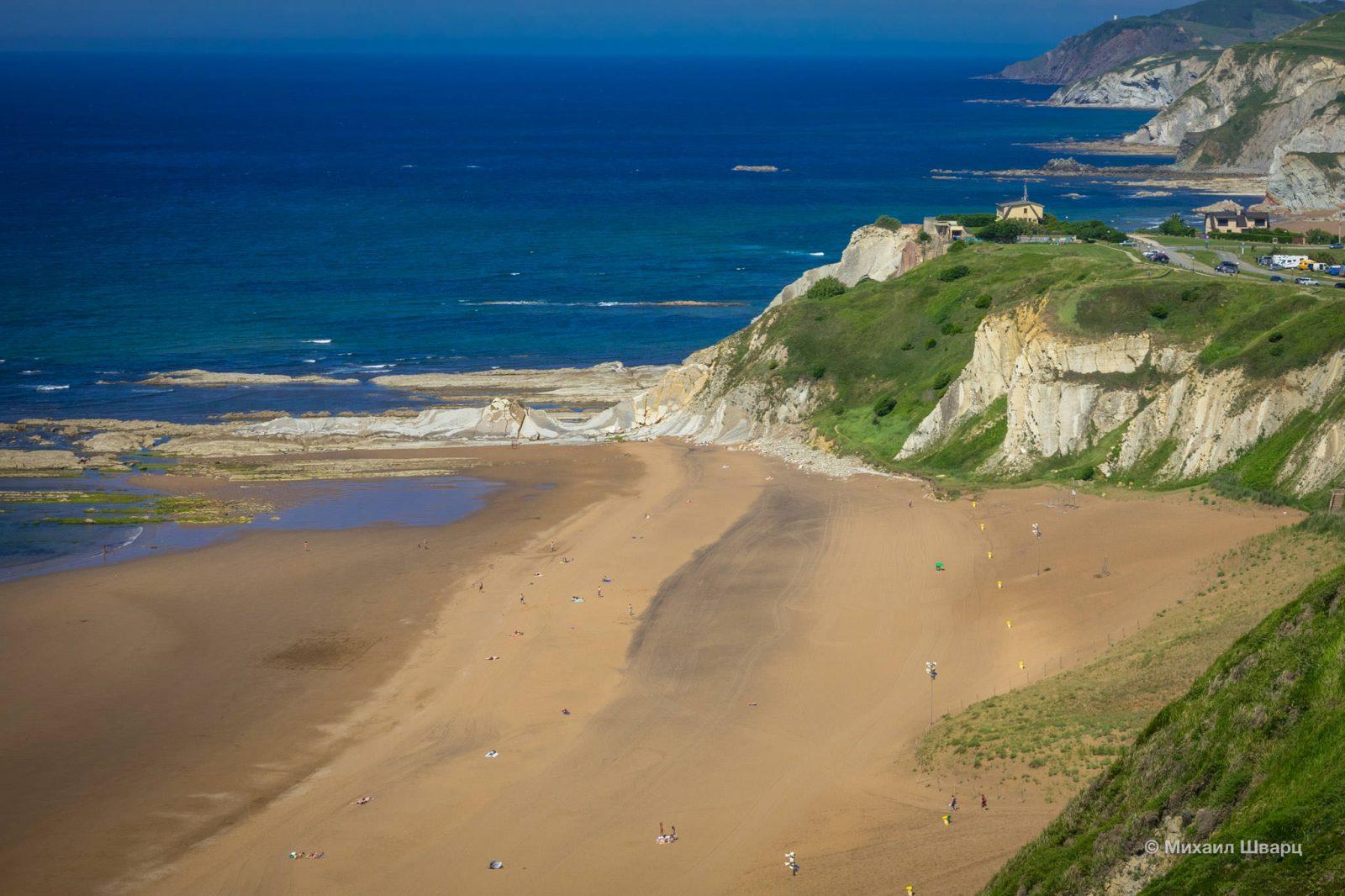 Пляж Бариначе с другой стороны