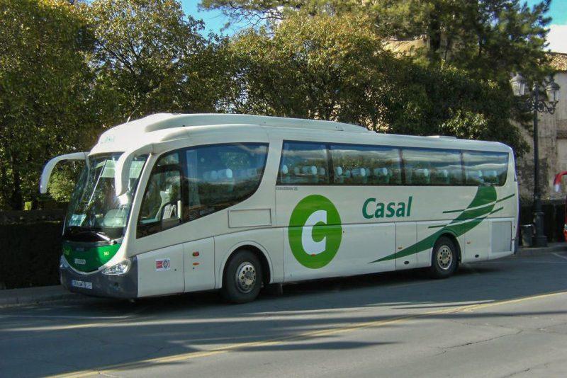Автобус компании Casal