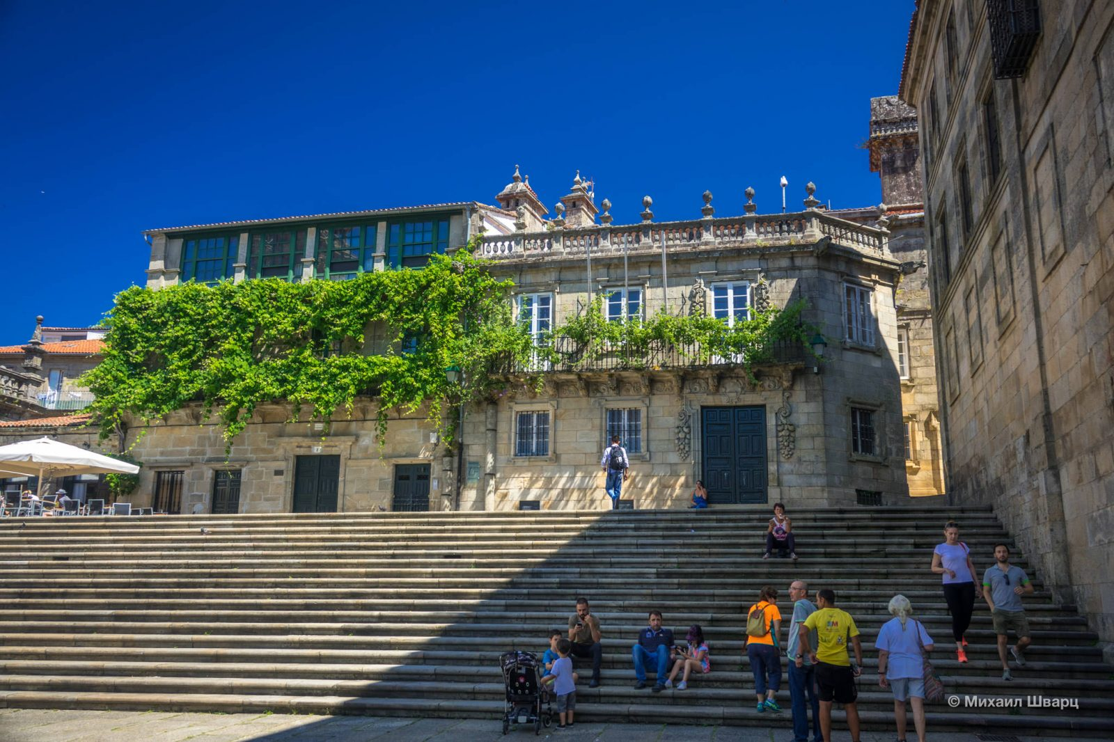 Лестница и особняк Casa da Parra