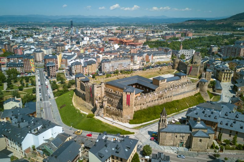 Понферрадский замок (Castillo de Ponferrada)