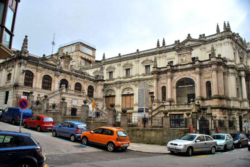 Здание музея современного искусства