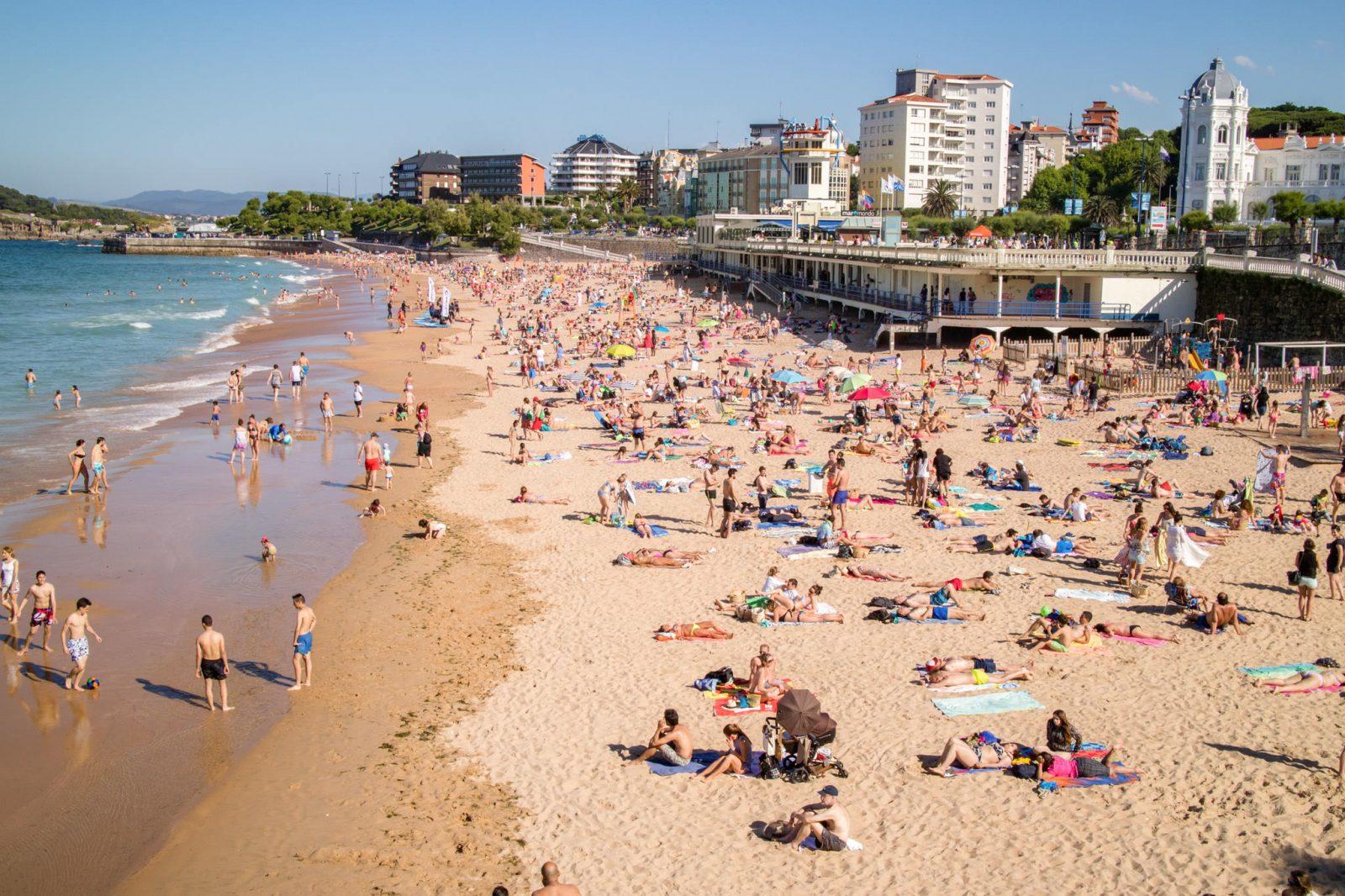 Первый пляж Эль-Сардинеро (фото: Horacio Velazquez)