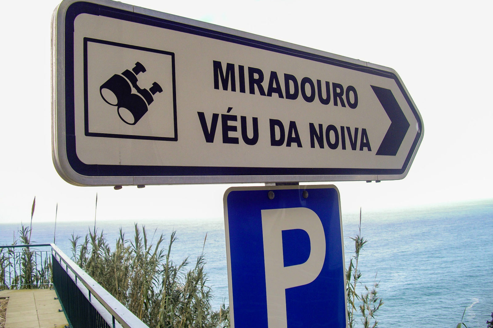 Указатель (фото: Rota dos Miradouros Madeira)