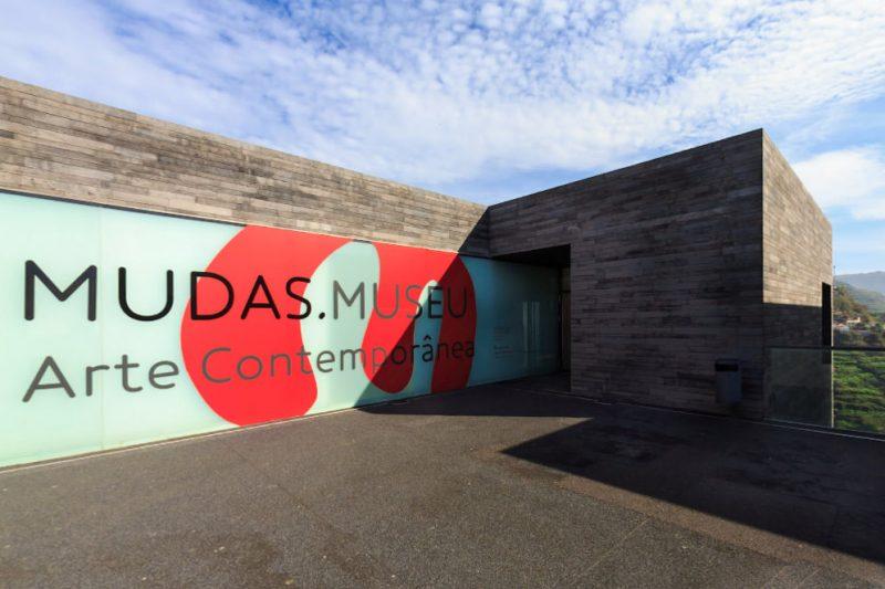 Новое здание музея современного искусства Мадейры