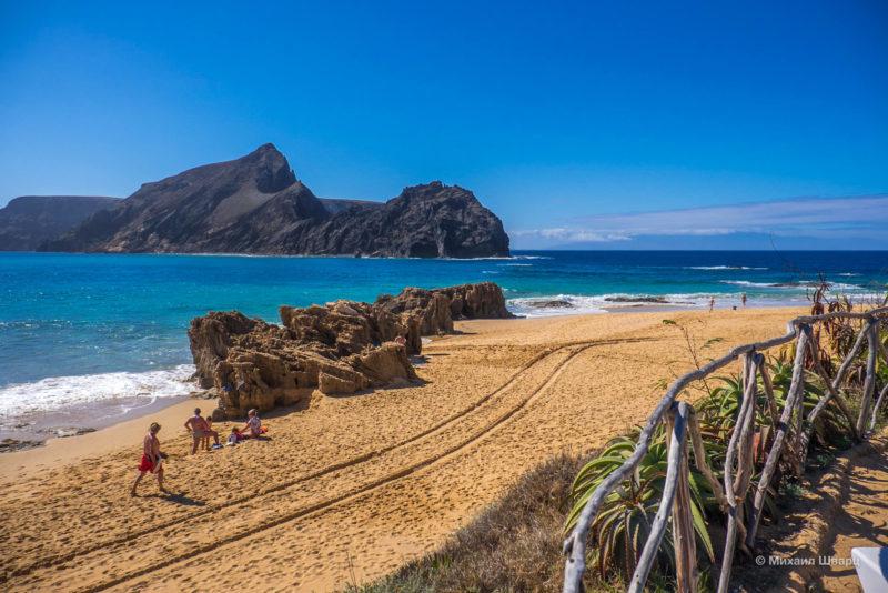 Пляж Понта-да-Кальета