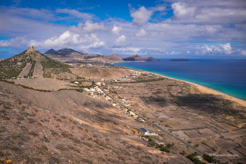 Остров «Священный Порт», вид со смотровой Флорис
