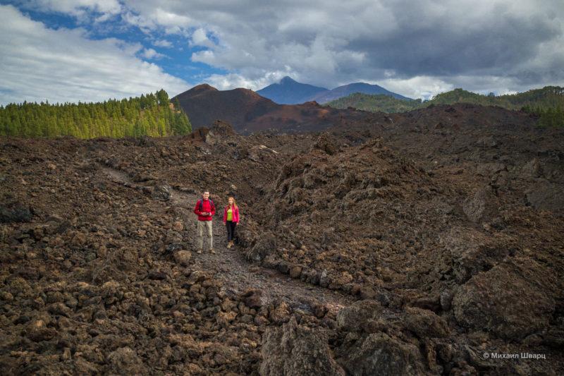 Маршрут по вулканам около Тейде 6