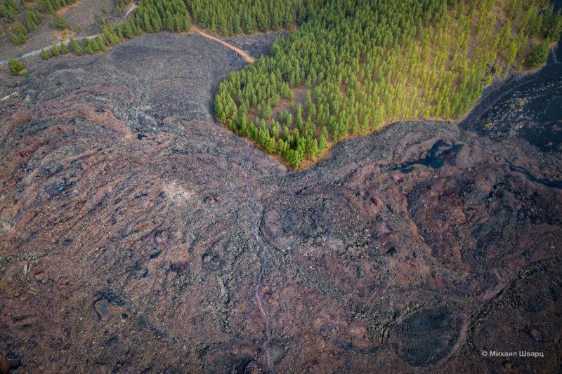 Маршрут по вулканам около Тейде 9