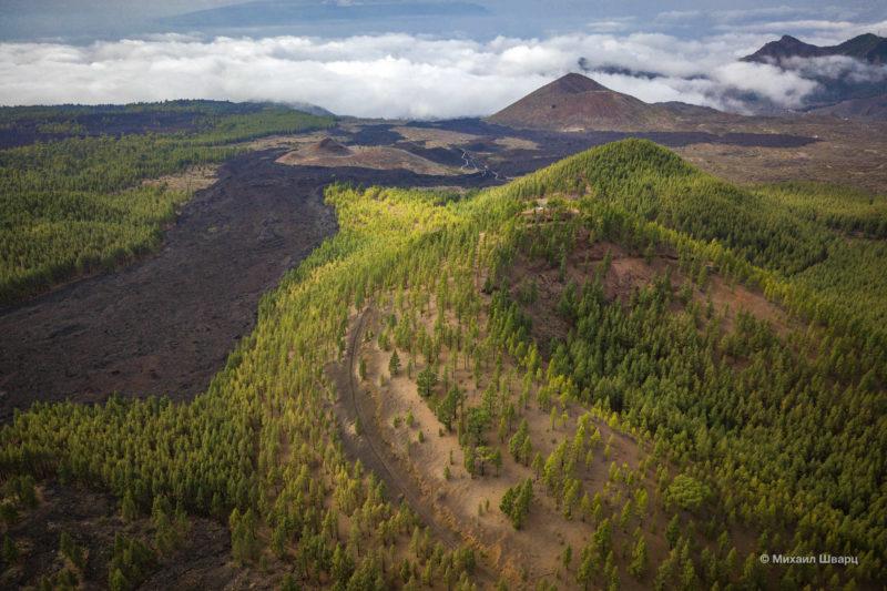 Маршрут по вулканам около Тейде 5