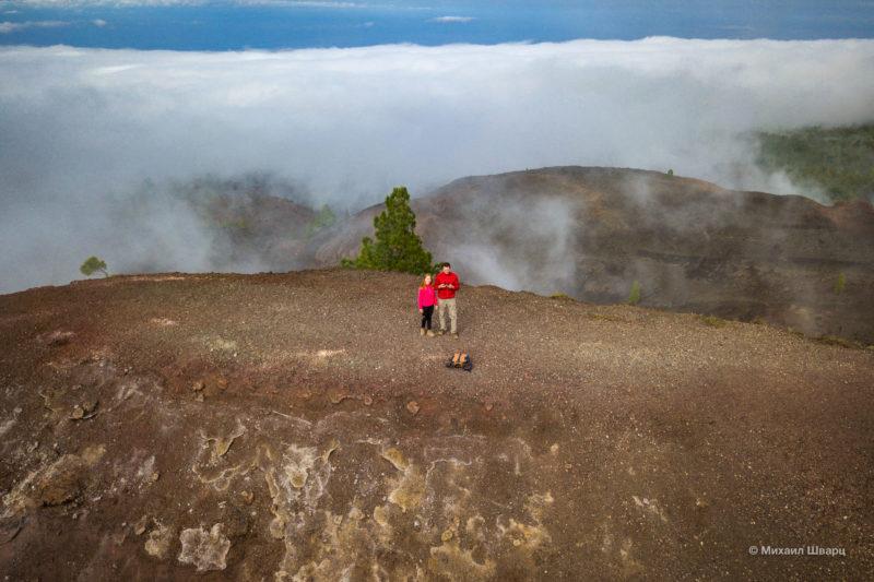 Маршрут по вулканам около Тейде 17