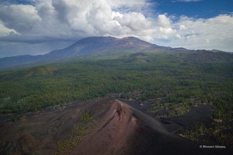 Маршрут по вулканам около Тейде 18