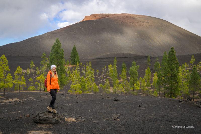 Маршрут по вулканам около Тейде 12