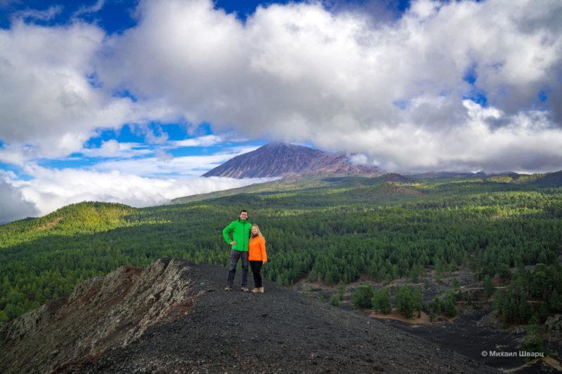 Маршрут по вулканам около Тейде 16