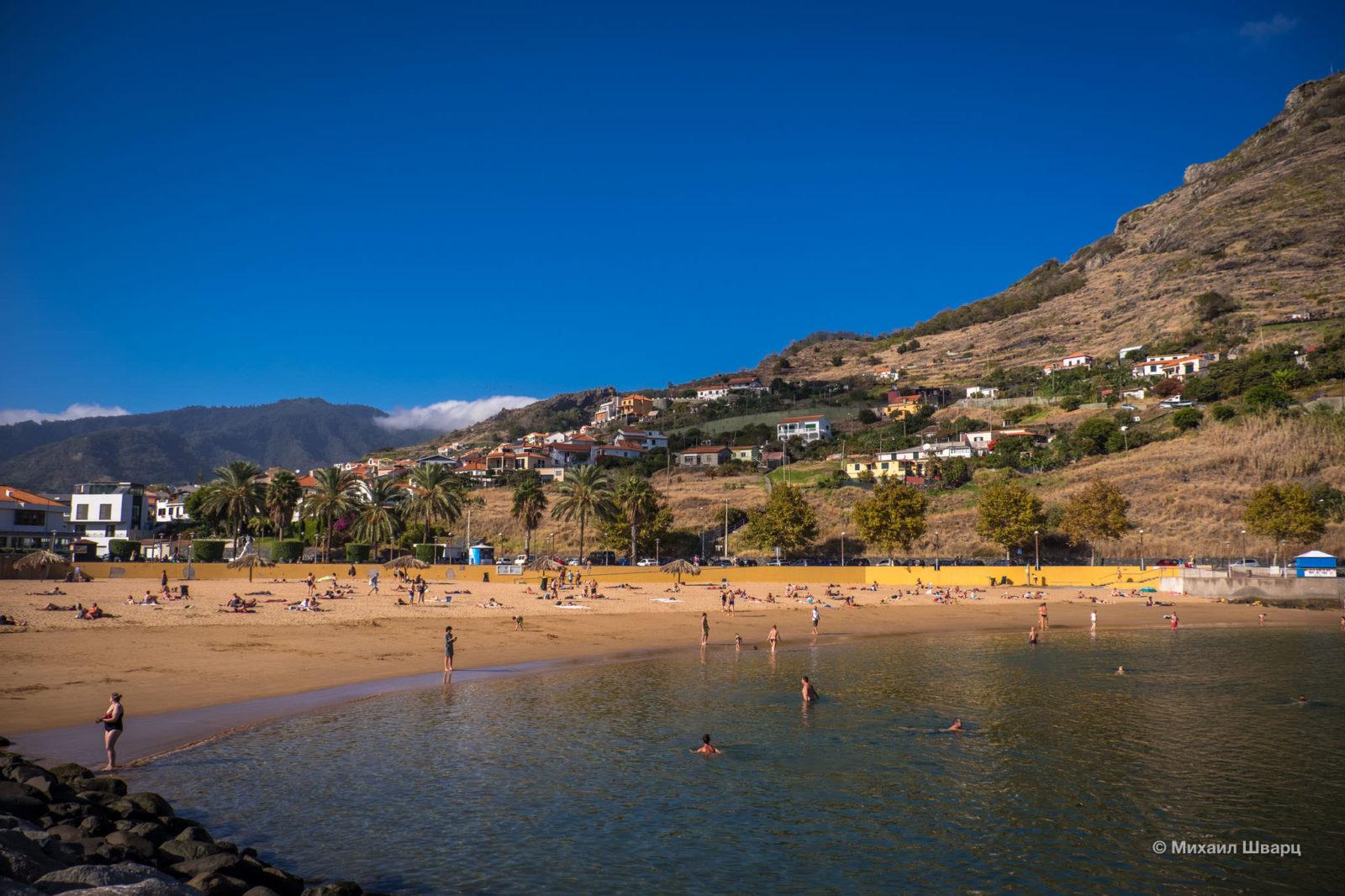 Пляж Machico