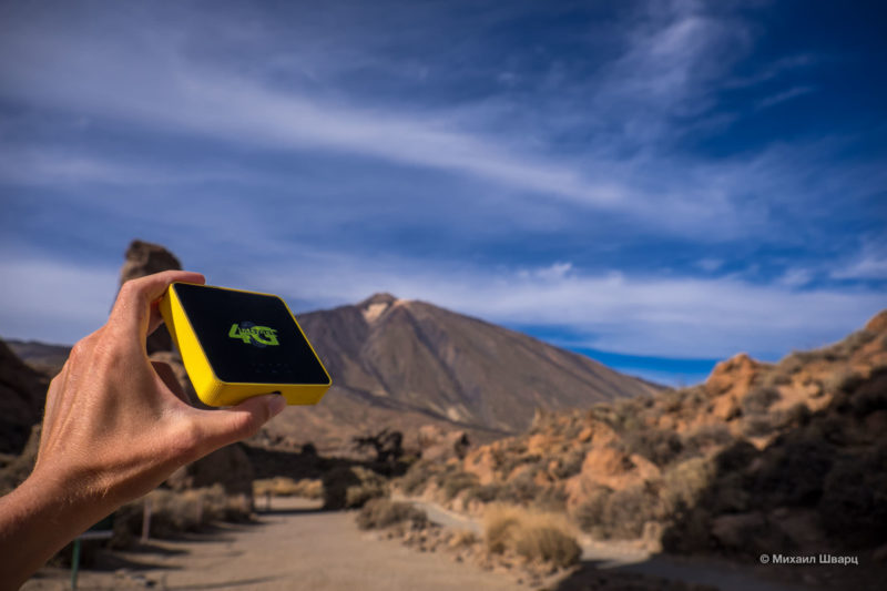 Безлимитный мобильный интернет на Тенерифе 1