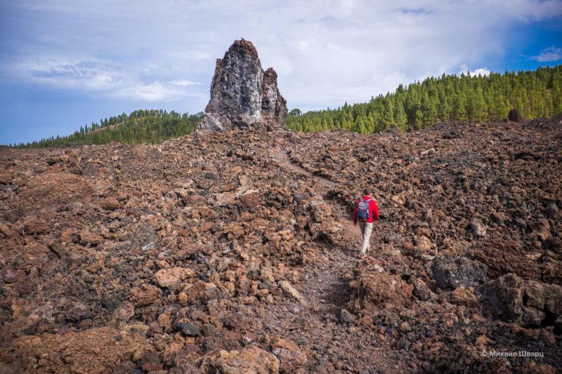 Маршрут по вулканам около Тейде 8