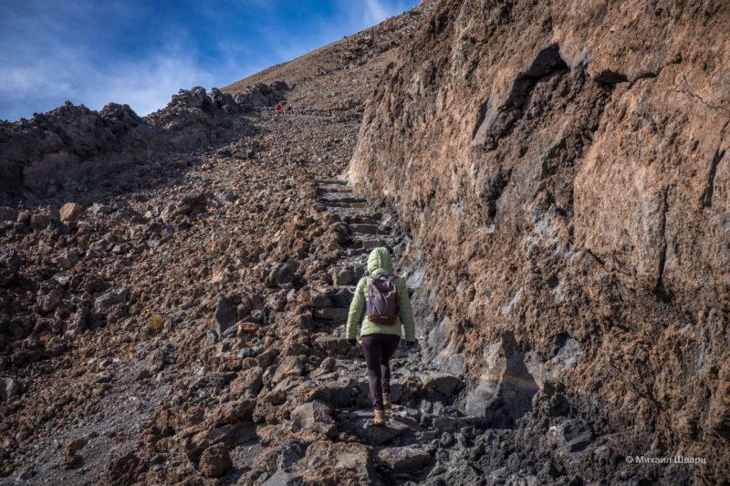 Как мы забрались на вулкан Тейде 7