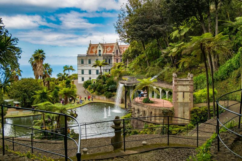 Дворец и тропический сад Монте
