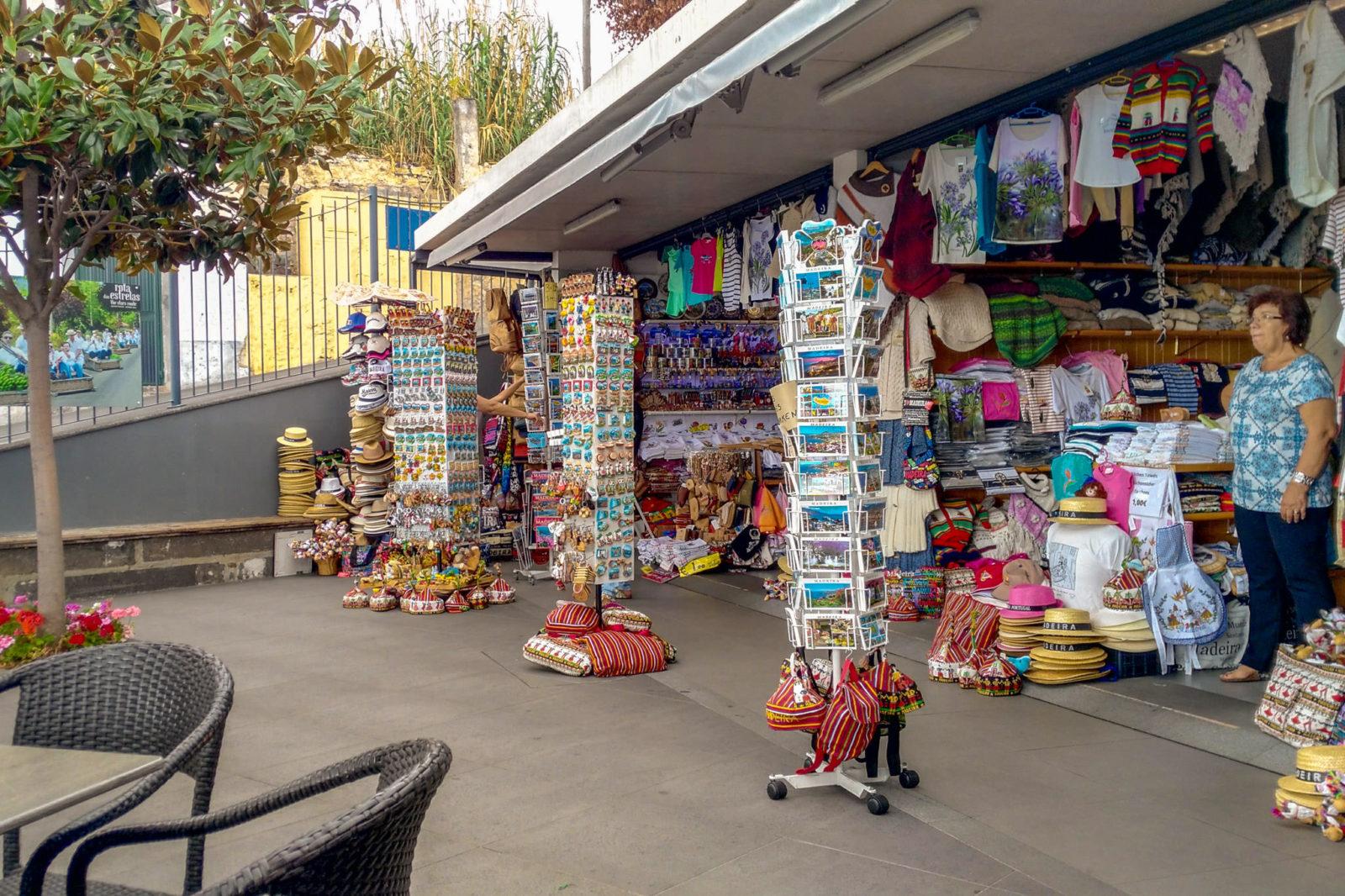 Сувенирный магазинчик в Livramento (фото: Wilfried Gunkel)