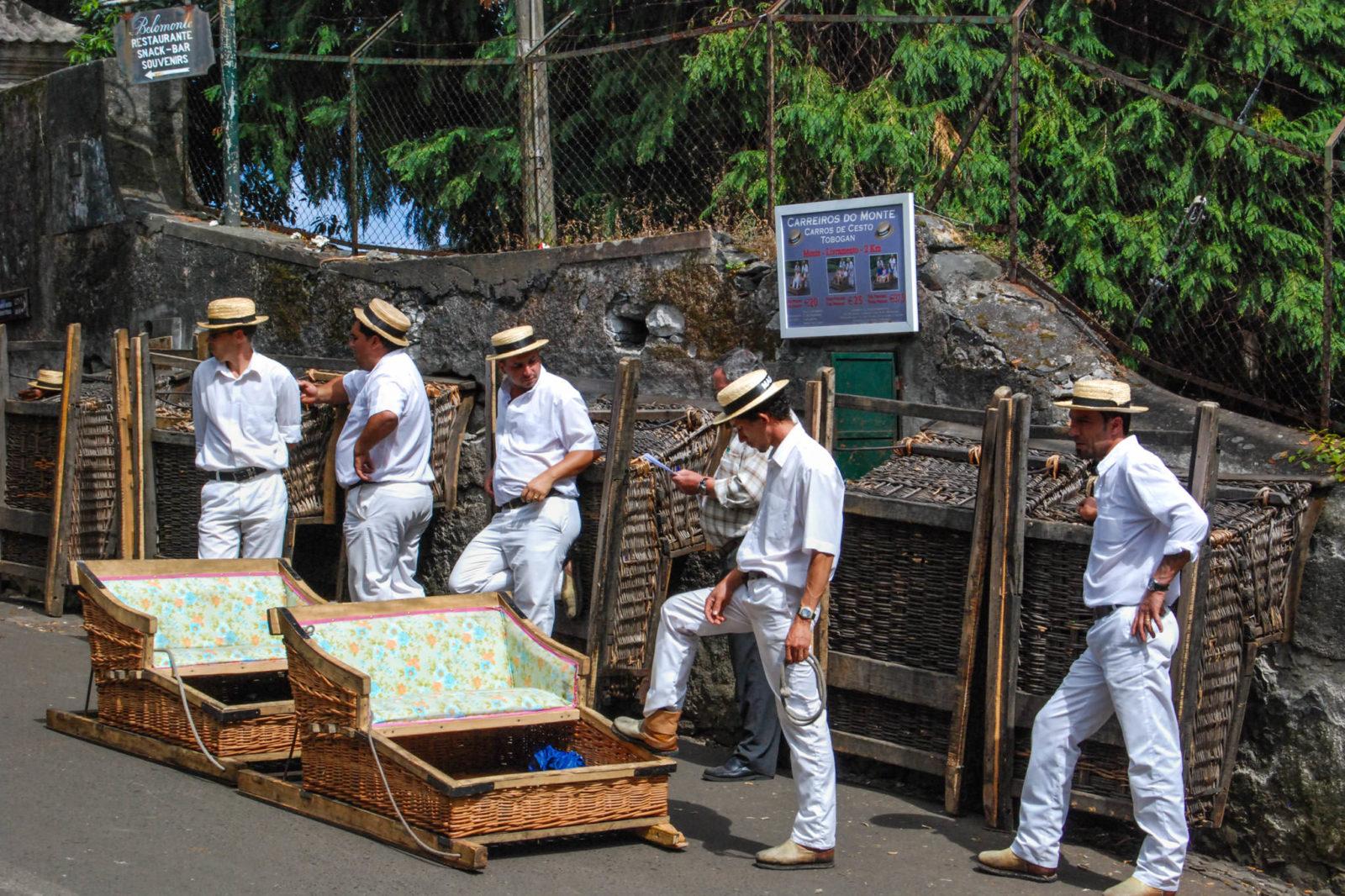 Возчики из Монте (фото: Larraine Henning)