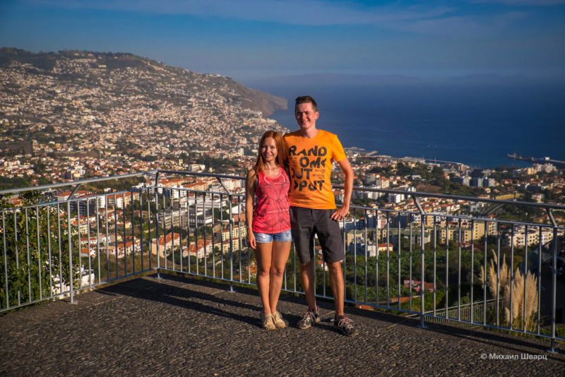 Смотровая Pico dos Barcelos, Фуншал