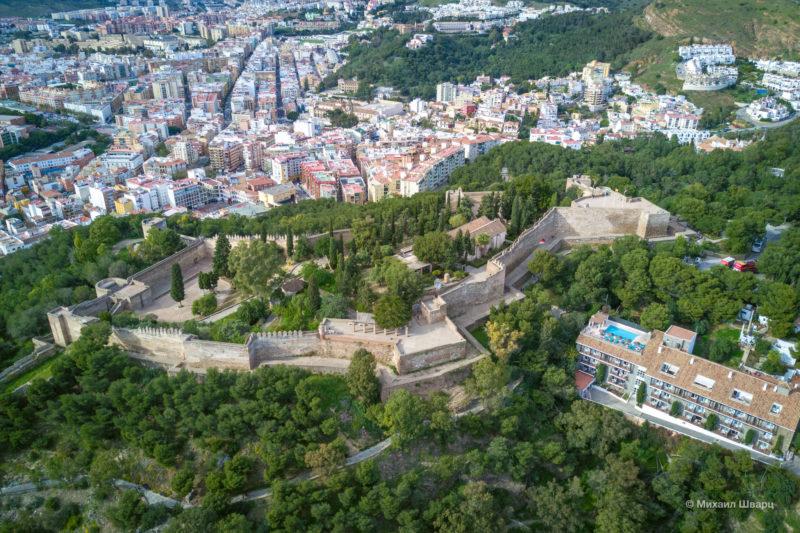 Крепость Гибральфаро (Castillo de Gibralfaro)