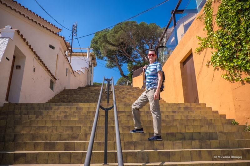 Прогулка по бухтам Llafranc, Tamariu, Aiguablava и к замку Бегур 3