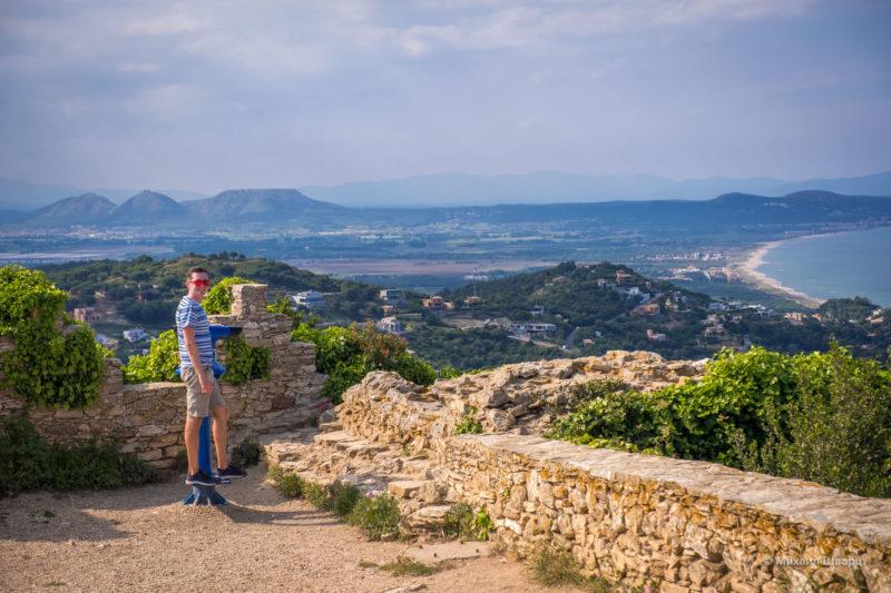 Прогулка по бухтам Llafranc, Tamariu, Aiguablava и к замку Бегур 26