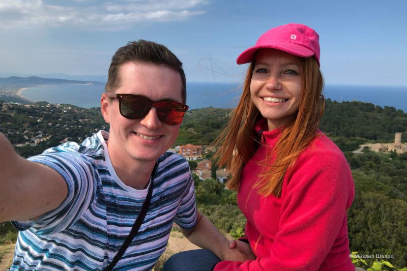 Прогулка по бухтам Llafranc, Tamariu, Aiguablava и к замку Бегур 27