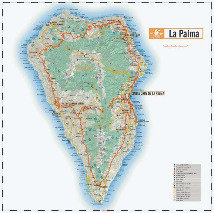Карта острова в подарок от Cicar
