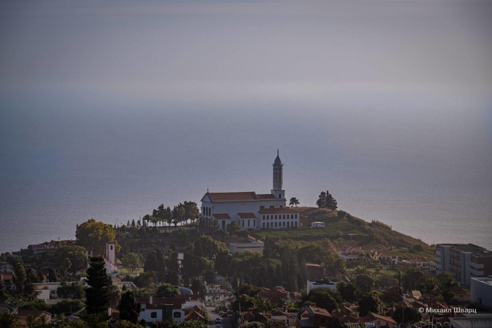 Вид на Церковь Святого Мартина (Igreja de São Martinho)