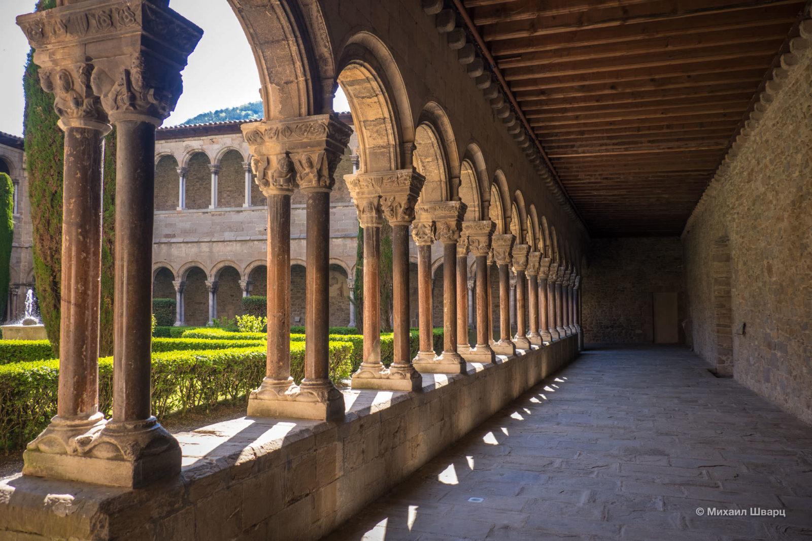 Патио в монастыре