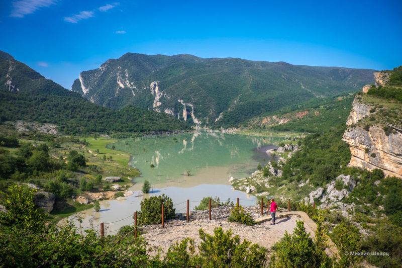 Опасная дорога Congost de Mont-rebei 2