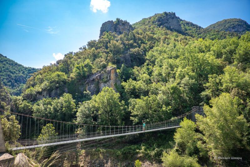 Опасная дорога Congost de Mont-rebei 6