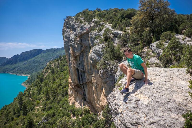 Опасная дорога Congost de Mont-rebei 20