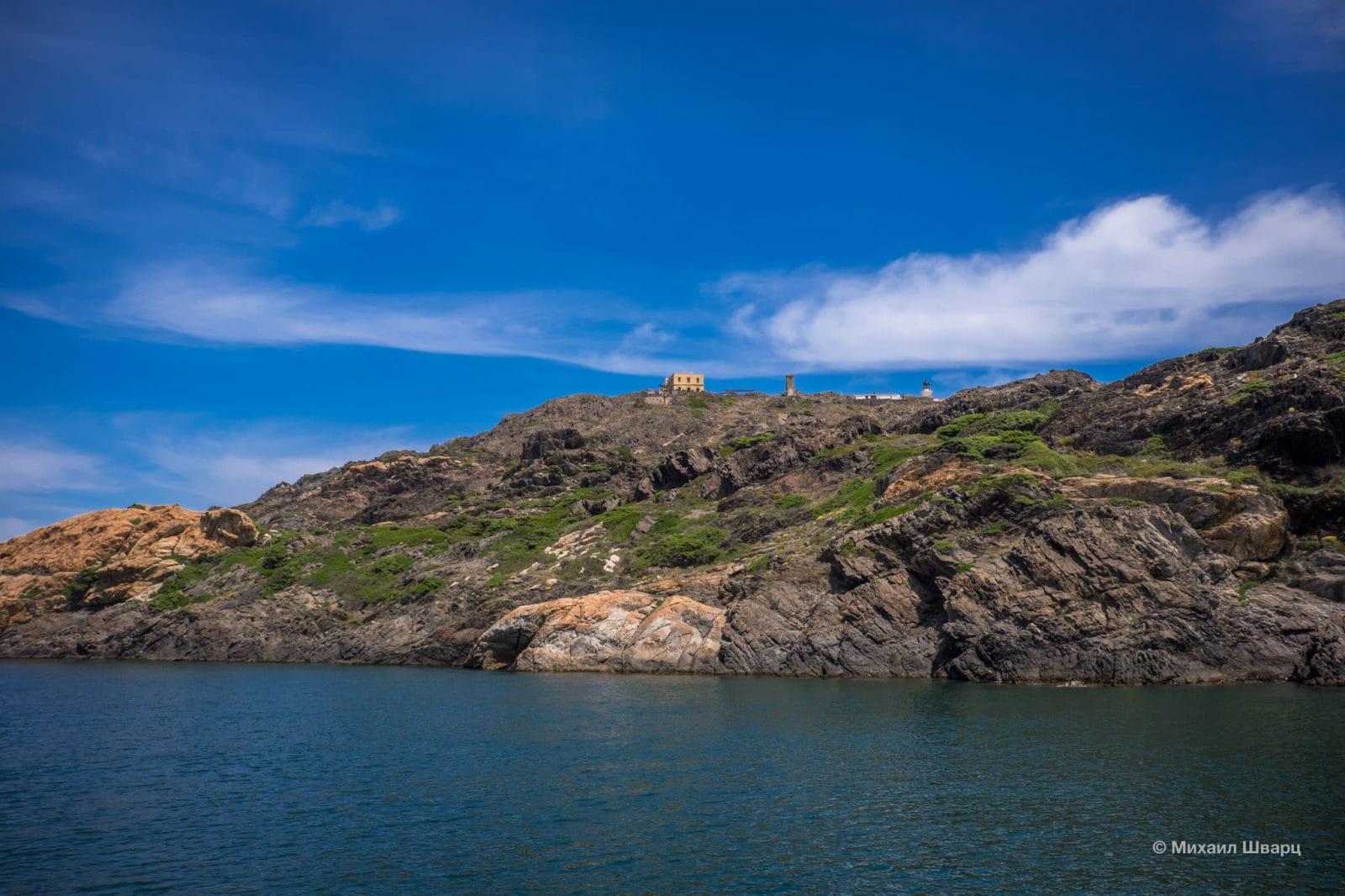 Маяк на мысе Cap de Creus