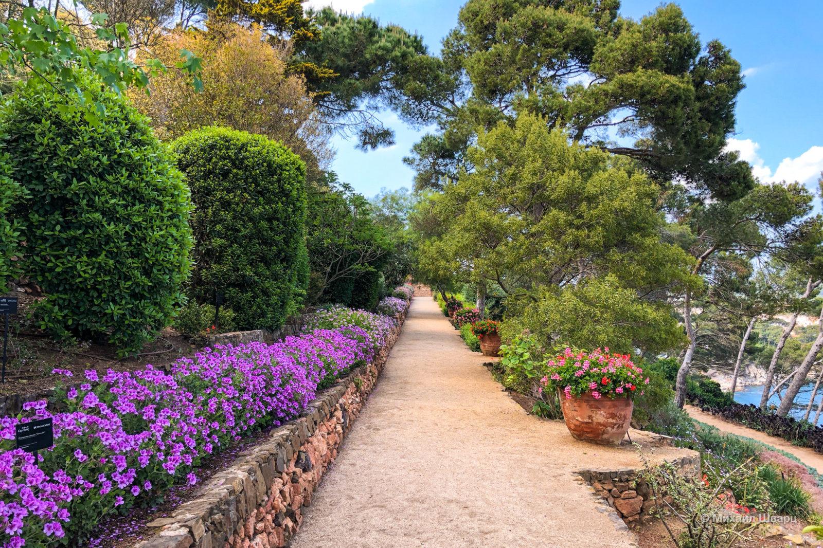 Дорожки в саду Кап Роч