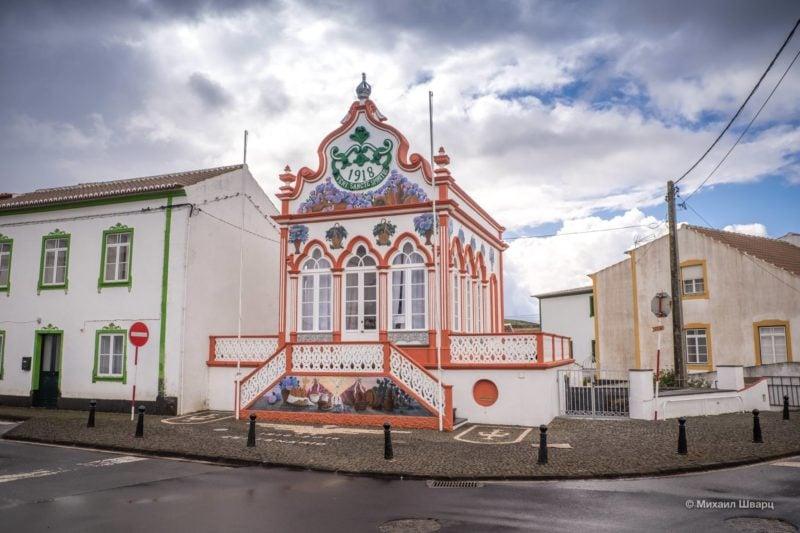 Империу Святого Духа в городе Вила-де-Сан-Себастьян
