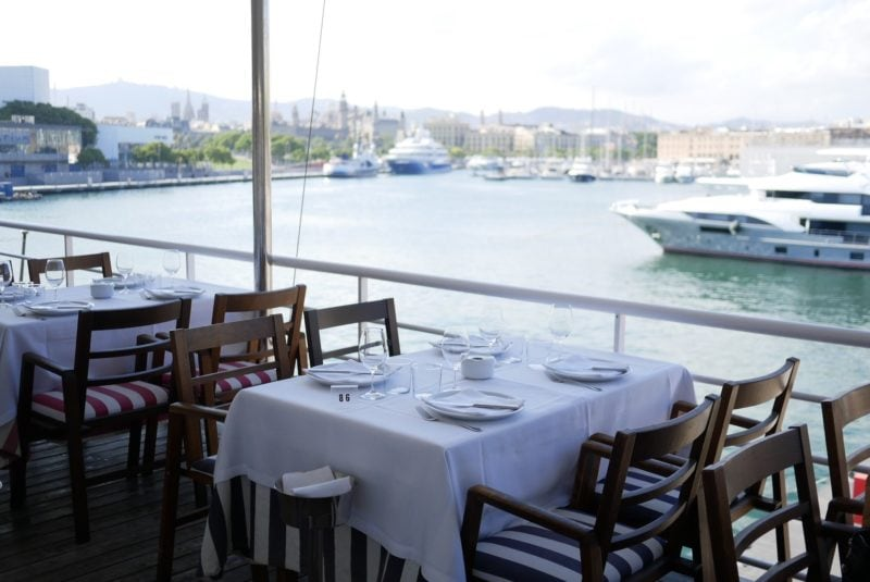 El Restaurante Barceloneta