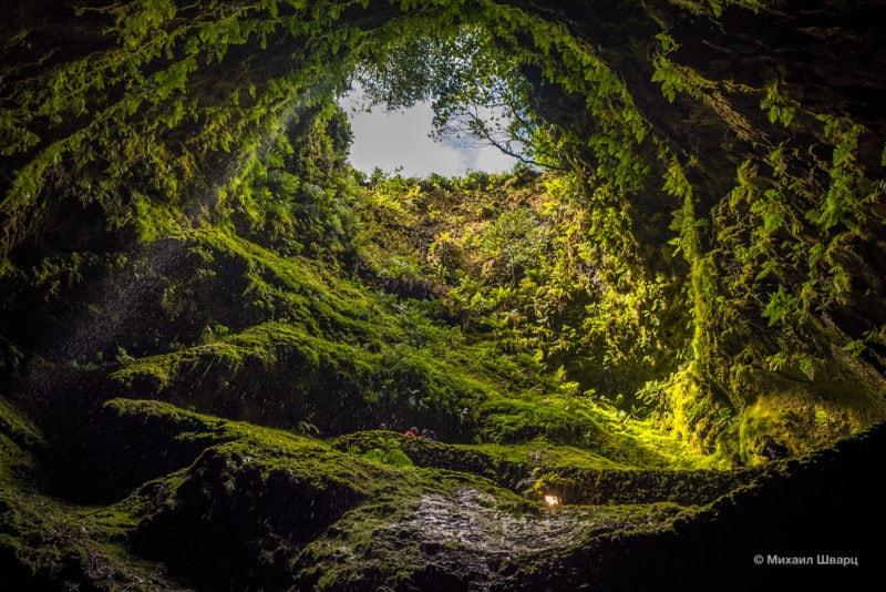 Лавовая пещера Алгар-ду-Карвау