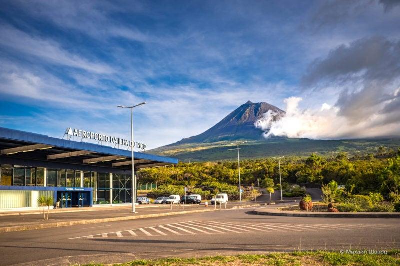 Вулкан Пику – самая высокая точка Португалии
