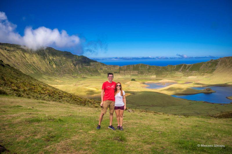 Корву – самый маленький Азорский остров