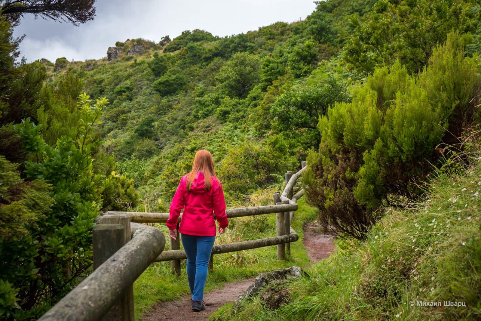 Прогулка по Furnas do Enxofre