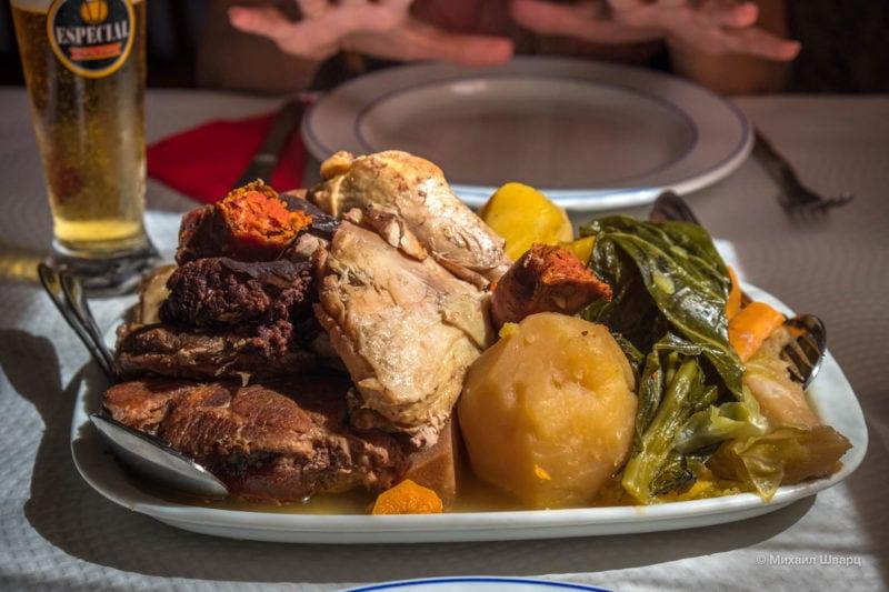 Cozido Tradicional das Furnas – мясо с овощами, запечённое в вулкане Фурнаш