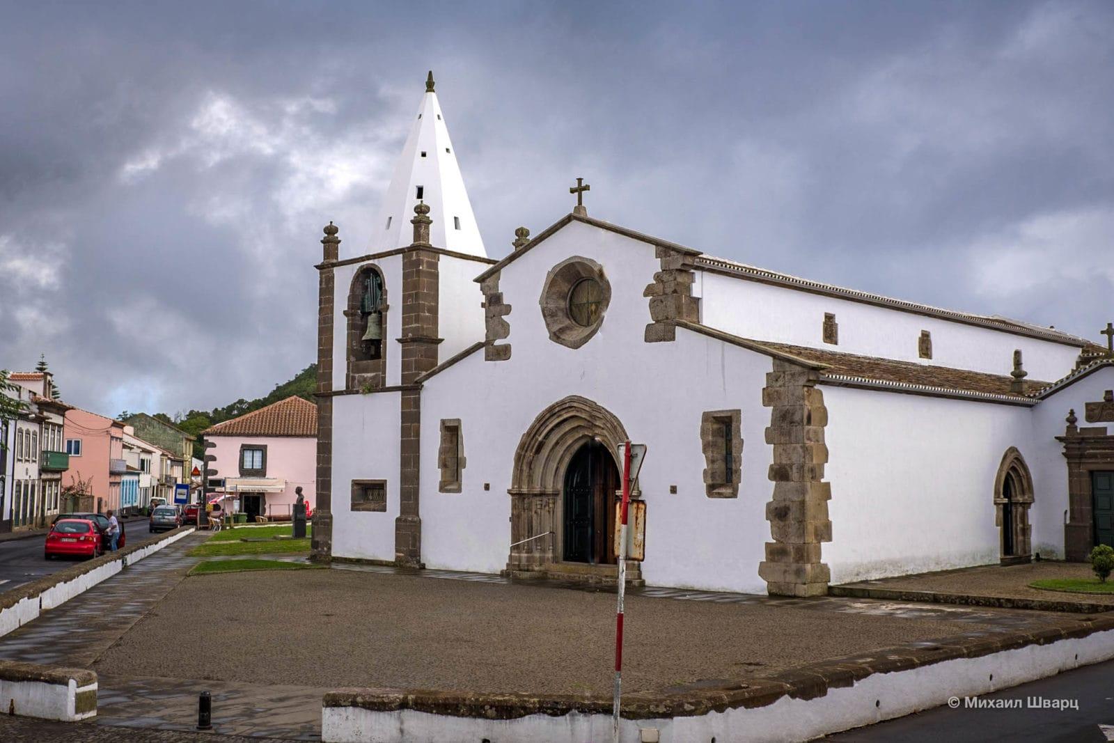 Церковь Матери Святого Себастьяна, Терсейра