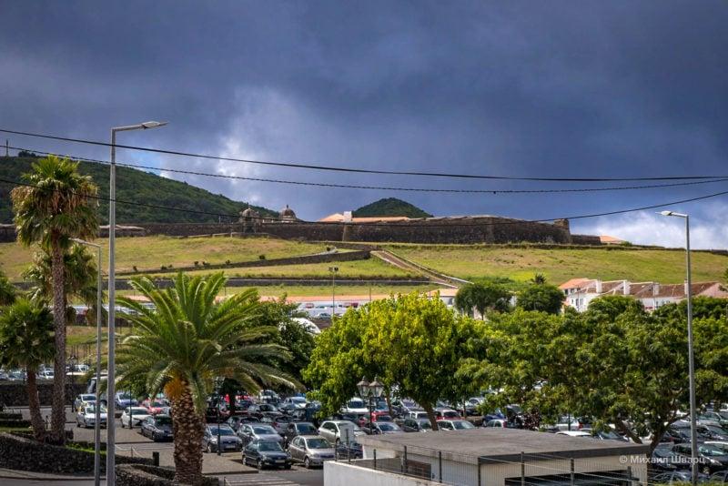 Крепость Святого Иоанна Крестителя, Твид с городской парковки
