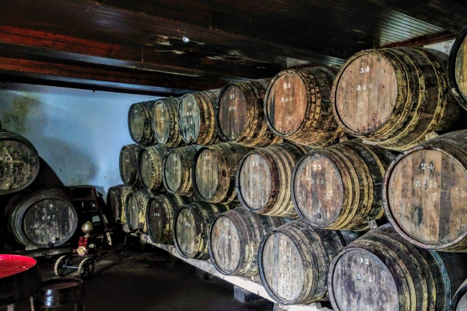 Бочки с вином (фото: Carl Brinker)