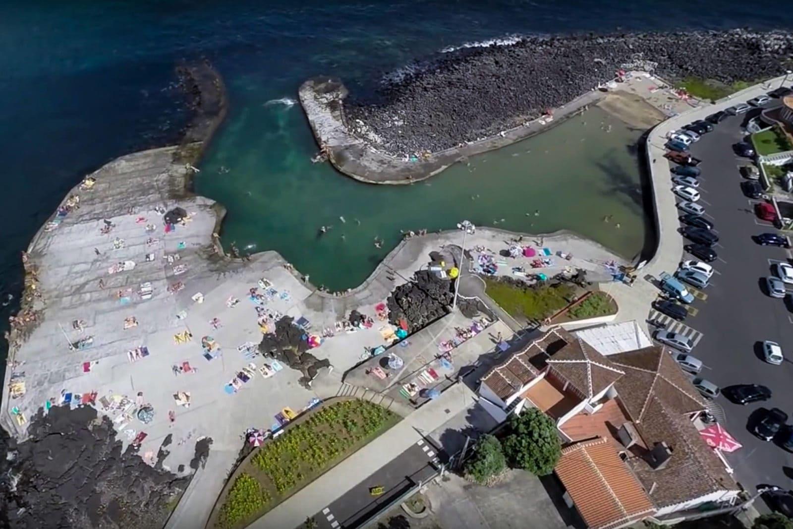 Территория купального комплекса Порту-Мартинш (фото: SKai aerial images)