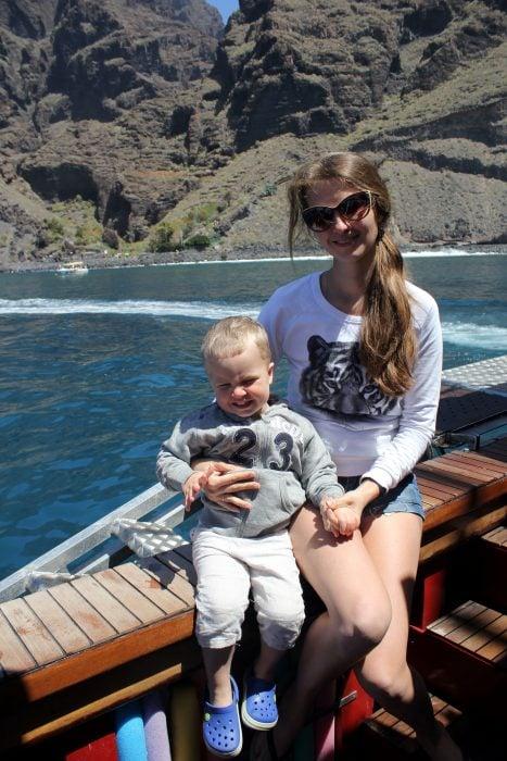 В гости к дельфинам и китам на пиратском корабле 1