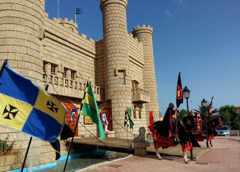 Рыцарский замок Сан-Мигель